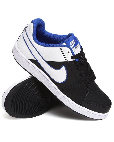 Nike Men Black,White Nike Backboard Ii Mid Sneakers