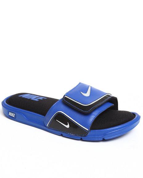 Nike Men Blue Nike Comfort Slide 2 Sandals