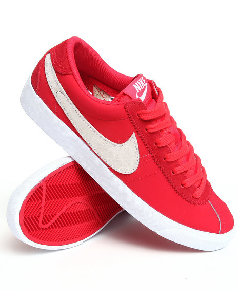 Nike Men Red Nike Bruin Low Sneakers