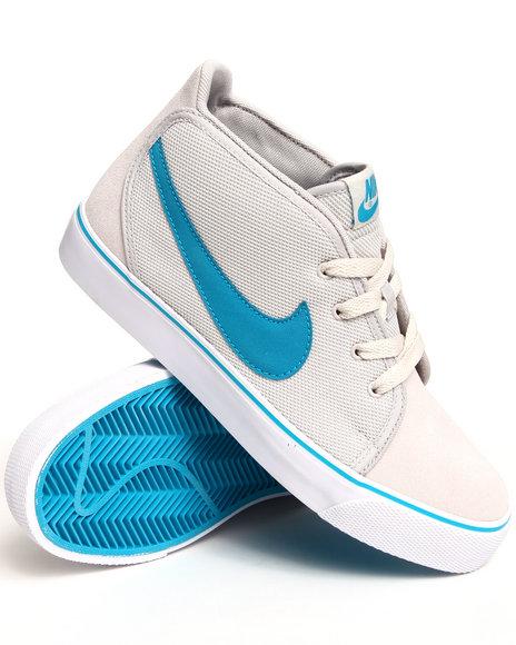 Nike Men Grey Toki Textile Sneakers