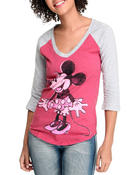 Long-Sleeve - Vintage Minnie 3/4 Sleeve tee