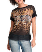 Tops - Cheetah Reflections Tee
