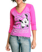 Long-Sleeve - Minnie 3/4 Sleeve Tee