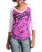 Graphix Gallery - Feisty Tink 3/4 Sleeve tee