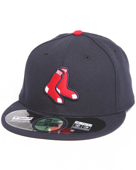 New Era - Men Navy Boston Red Sox Alternate Authentic 5950 Fitted Hat
