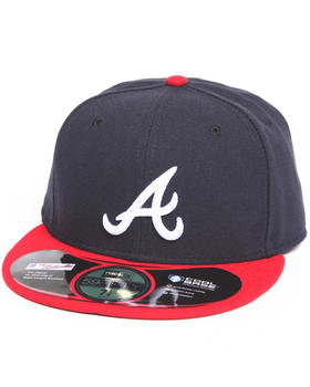 New Era - Atlanta Braves Home Authentic 5950 Fitted Hat