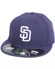 New Era - San Diego Padres Home Authentic 5950 Fitted Hat