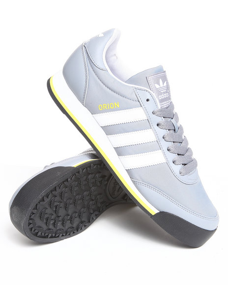 Adidas Men Grey Orion 2 Nylon Sneakers