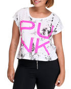 Tops - Studded Punk Top