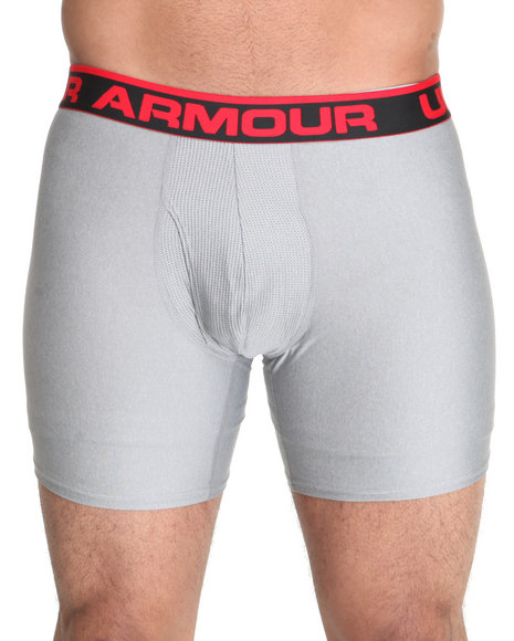 Under Armour Grey The Original Boxerjock Brief (Sizes S-4X)