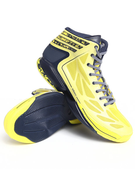 Adidas Men Yellow Crazy Light Sneakers
