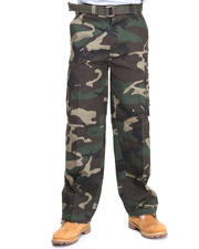 Basic Essentials - Camo Cargo Pants