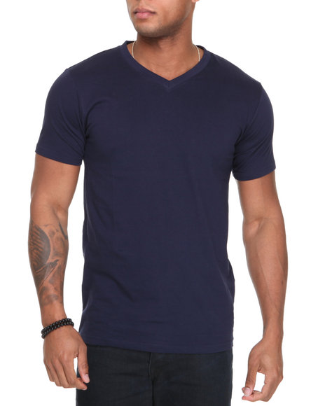 Basic Essentials - Vneck Tee