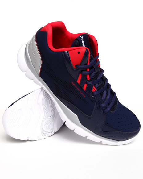 Reebok Men Blue Sublite Pro Sneakers