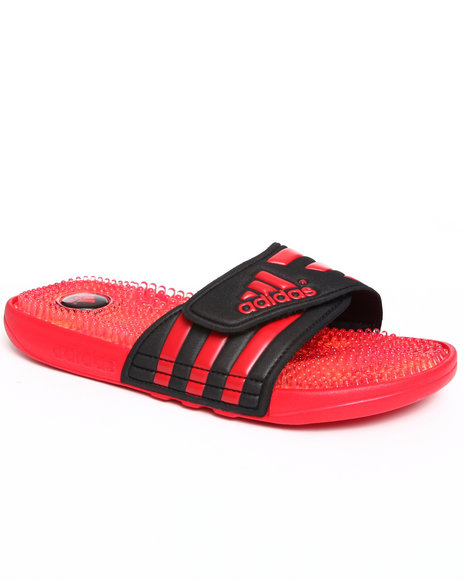 Adidas Men Black,Red Adissage Fade Slide Sandals