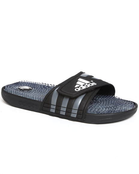 Adidas Men Black Adissage Fade Camo Slide Sandals