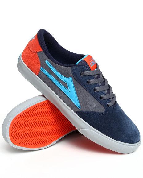 Lakai Men Multi,Blue Pico Grey/Blue Suede Sneakers
