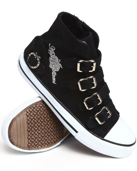 Apple Bottoms - Women Black Ernes Canvas Sneaker - $17.99