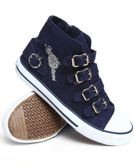 Apple Bottoms - Women Navy Ernes Canvas Sneaker
