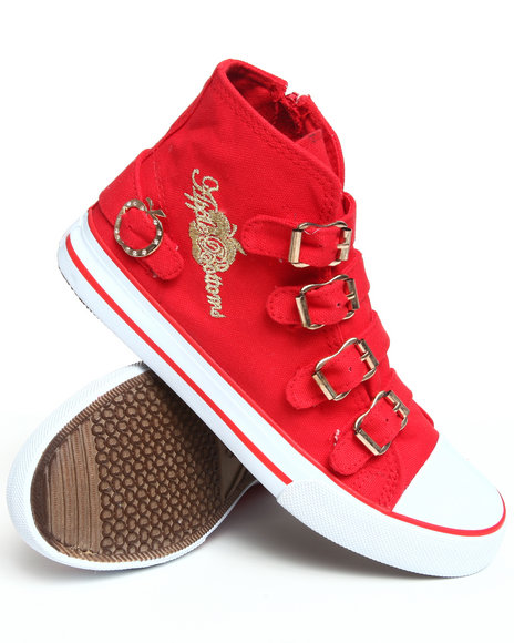 Apple Bottoms - Women Red Ernes Canvas Sneaker - $14.99