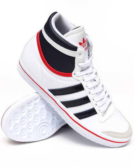 Adidas Women White Top Ten Vulc W Sneakers