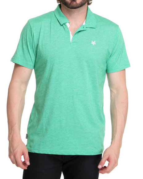Zoo York Green Fake Solid Polo