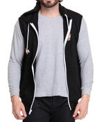 Buyers Picks - Solid French Terry Zip Hoodie Vest