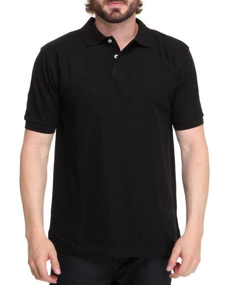 Basic Essentials - Solid Basic Pique Polo Shirt