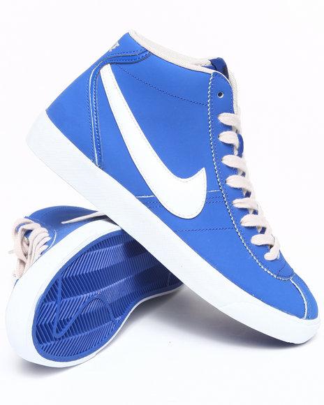 Nike Men Blue Nike Bruin Mid Sneakers