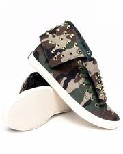 Footwear - Thrill fold Down Sneaker w/camo