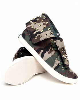 Cute To The Core - Thrill fold Down Sneaker w/camo