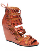 Two Lip Shoes - Sexy Gladiator Wedge Sandal