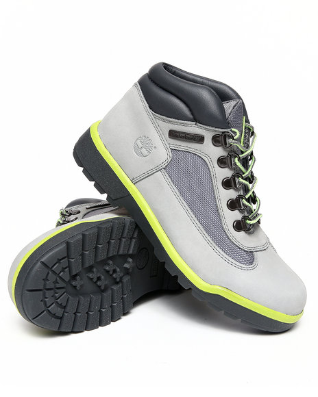 Timberland Boys Grey Field Boots