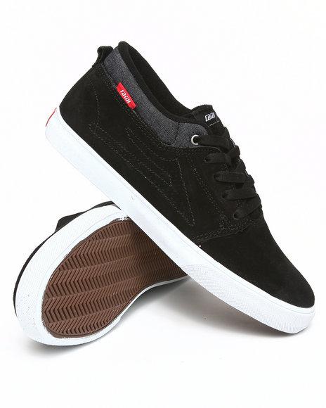 Lakai Men Black Marc Black Suede Sneakers