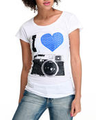 Women - I love Camera Tees