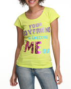Women - Your Boyfriend is Checking Me out Tee