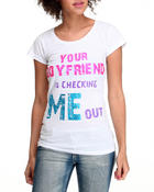 Graphix Gallery - Your Boyfriend is Checking Me out Tee