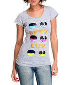 Women - Mutli Color Sunglasses Tee