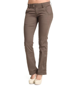 Basic Essentials - Sateen saddle stitch boot cut Jeans