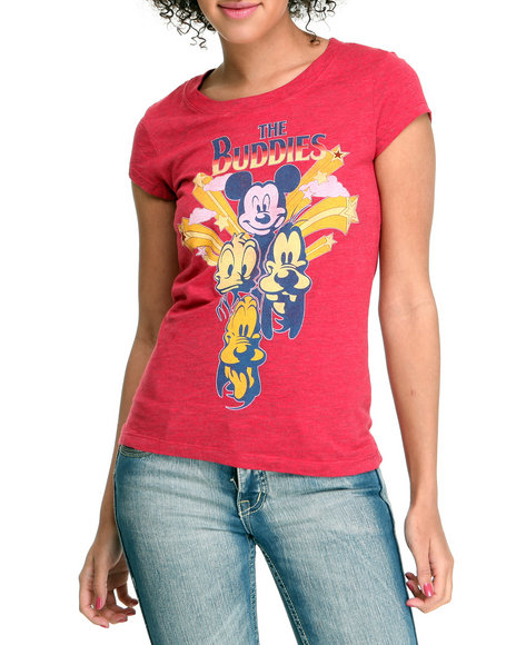 Graphix Gallery Women Crimson Buddies Tee
