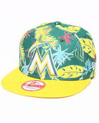 Hats - Miami Marlins Multihawi snapback hat