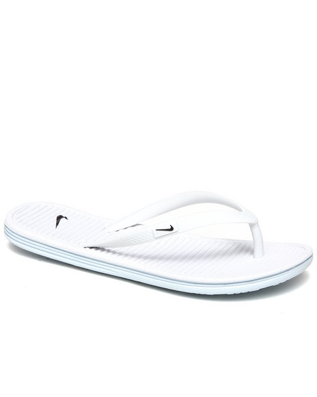 Nike Women White Wmns Solarsoft Thong Ii Sandals