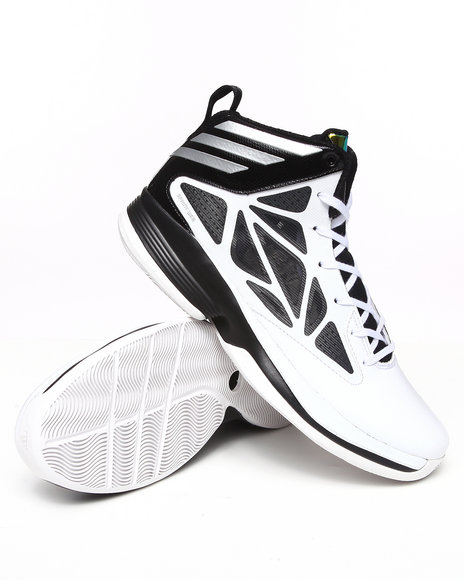 Adidas Men White Crazy Fast Sneakers