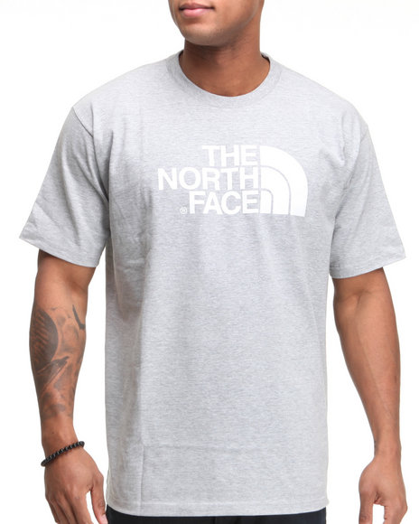 The North Face Men Grey Half Dome Tee