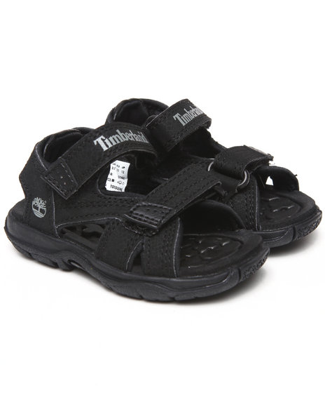 Timberland Boys Black Mad River 2 Strap Sandals (Toddlers)