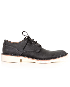 DJP OUTLET - Sid Canvas Derby w/ Waxed Finished Laces
