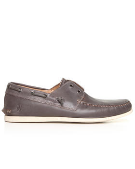 John Varvatos U.S.A. - Schooner Lace Less Leather Boat Shoe