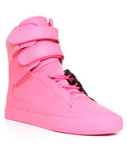 -LOOKBOOKS- - Society Pink Leather/Glitter Sneakers