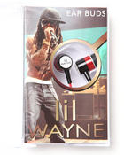 Women - Lil Wayne In-Ear Buds headphones w/cassette Box