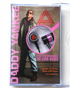 DRJ Music Merch - Daddy Yankee In-Ear Buds headphones w/cassette Box
